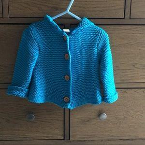 Nordstrom Stem Baby Knit Hooded Jacket - 9m